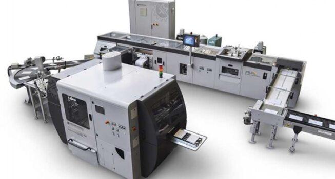 Meccanotecnica præsenterer den nye TRIMMING, fuldautomatiske tre-kniv trimmer